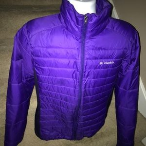 *Columbia* lightweight women's jacket coat - L